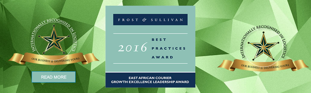 2016 East African Courier Growth Excellence Leadership Award