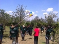 Fargo Courier employees during the 2014 team building event in Kitengela